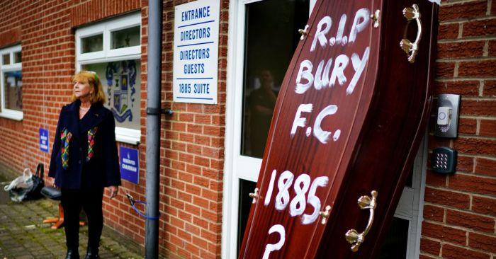 CVA, CVA bubble bursts for Bury FC creditors