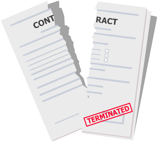 Termination clauses have been suspended for many companies following Covid-19