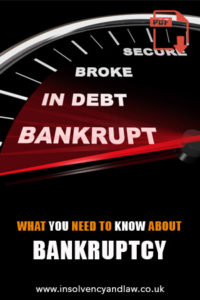 Bankruptcy, Bankruptcy