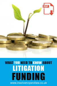 litigation funding, Litigation Funding